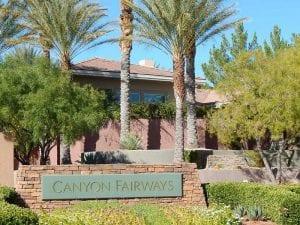 Canyon Fairways Summerlin