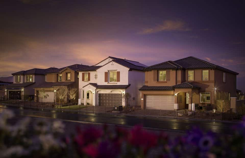 south las vegas gated large lot new home new house construction