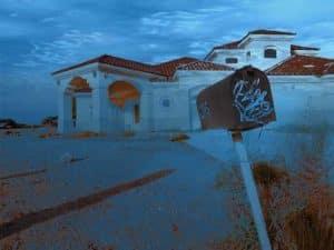 Las Vegas Home Under Water