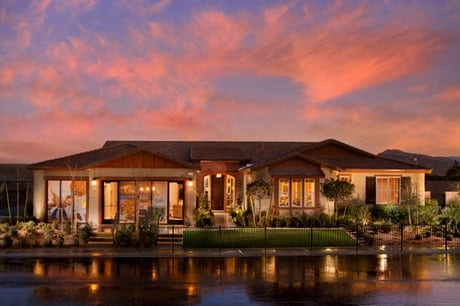 Custom single story home for sale in las vegas luxury for Custom one story homes