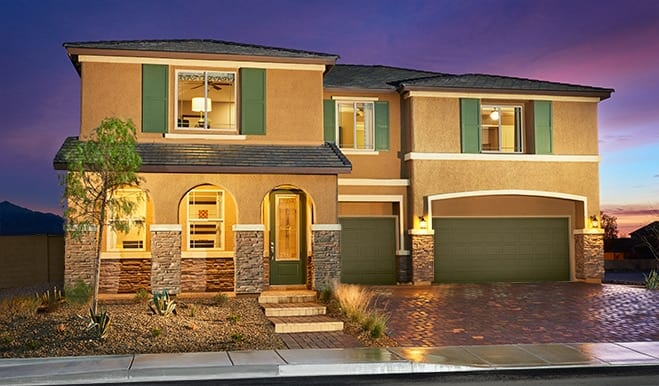 New home builders in las vegas house construction re max for New modern homes las vegas