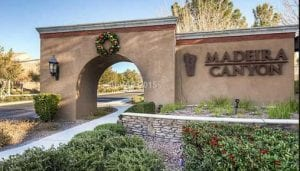 Madeira Canyon Homes for Sale Henderson NV
