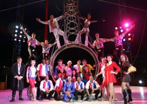 Circus Circus Performers