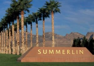 Bonita Canyon Summerlin Homes