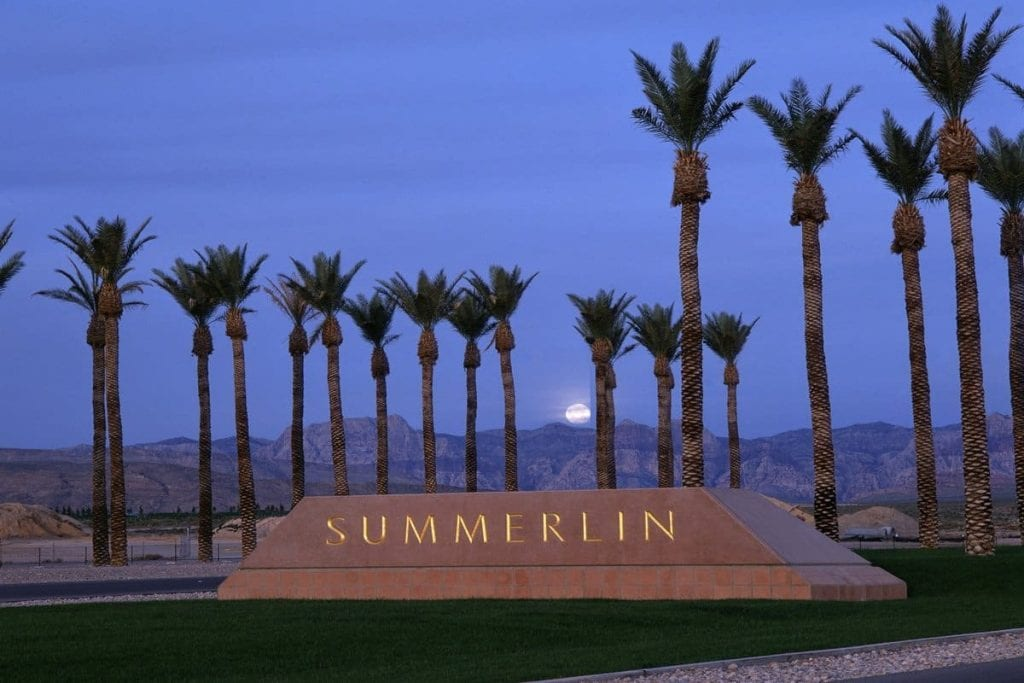 Country Gardens Summerlin Homes