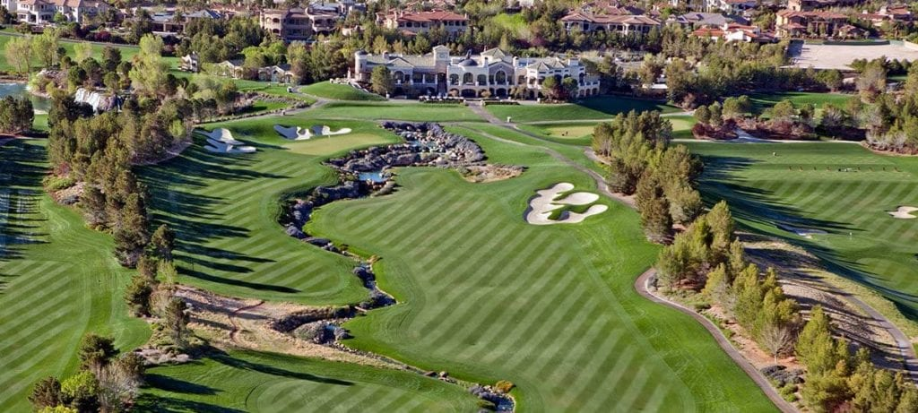 New Homes On Golf Course In Las Vegas