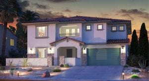 Delano Gated Paseos Village Summerlin Homes