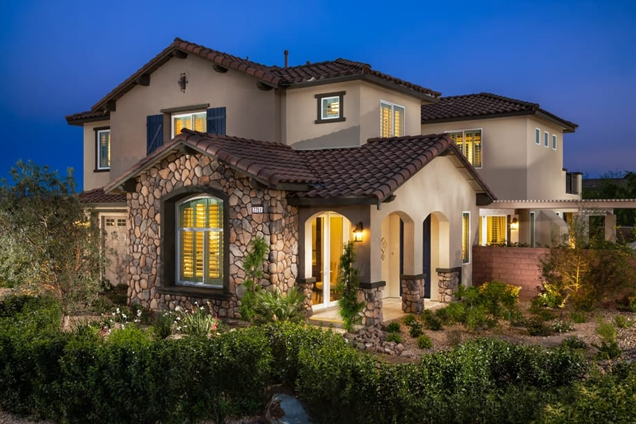 Mountains edge new home gated community 702 508 8262 re for New modern homes las vegas