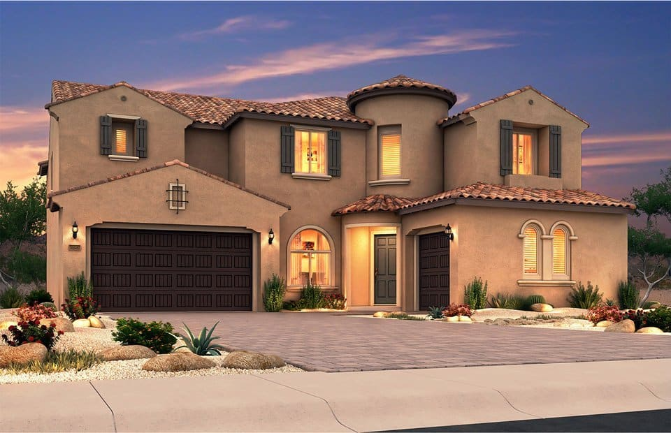 Pulte Homes Summerlin The Paseos Village New Homes