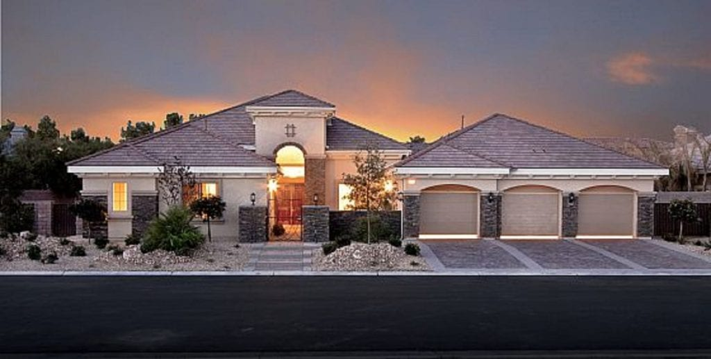 One story ranch style homes henderson nv 702 508 8262 re for Luxury single story home plans