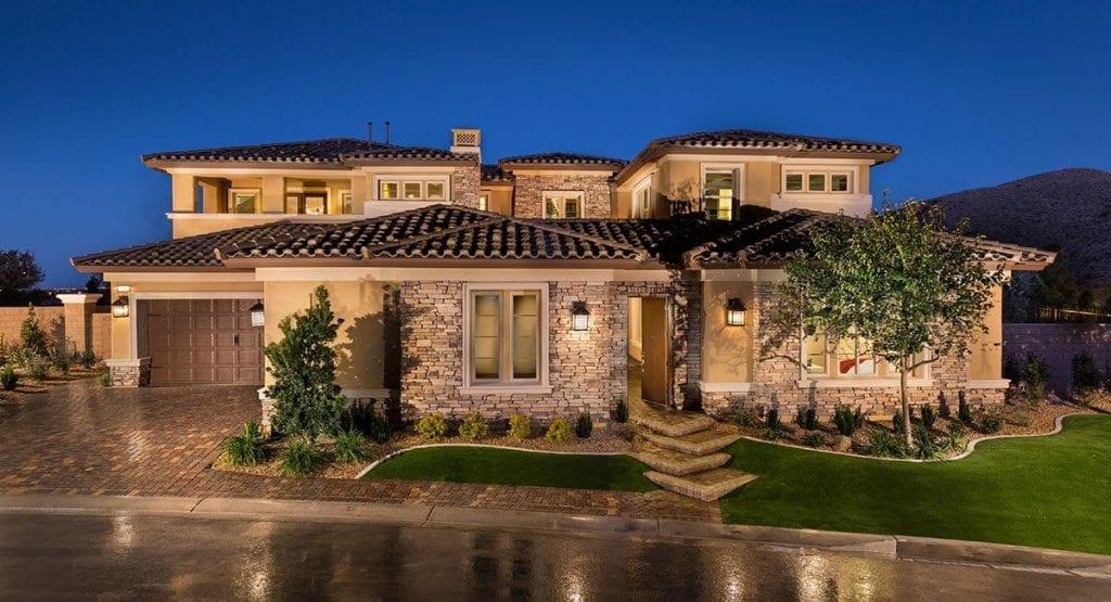 Top  Million Dollar Model Home Builders Las Vegas Nv