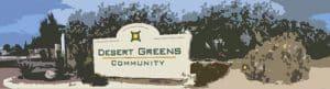 Desert Greens gated 55 plus community Pahrump NV