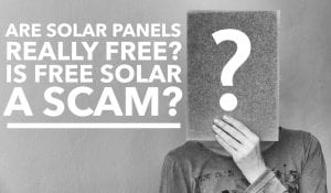 Free Solar Leasing Panels Scam